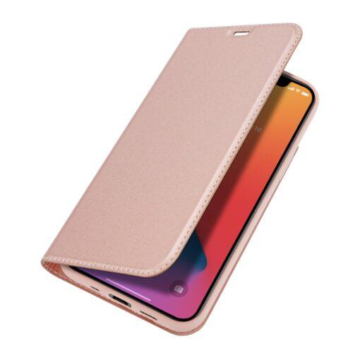 iPhone 12 mini kaaned Dux Ducis Skin Pro Bookcase roosa 3