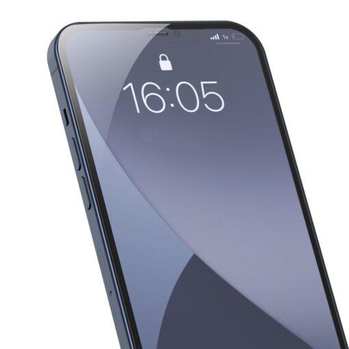 iPhone 12 mini kaitseklaas sinise valguse kaitsega taisekraan 0.23mm 2tk 1