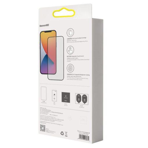 iPhone 12 mini kaitseklaas sinise valguse kaitsega taisekraan 0.23mm 2tk 5