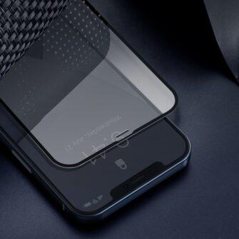 iPhone 12 mini kaitseklaas sinise valguse kaitsega taisekraan 0.23mm 2tk 6