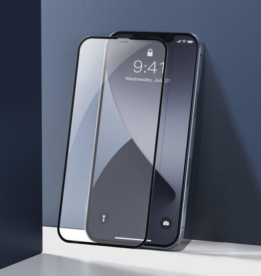 iPhone 12 mini kaitseklaas sinise valguse kaitsega taisekraan 0.23mm 2tk 7