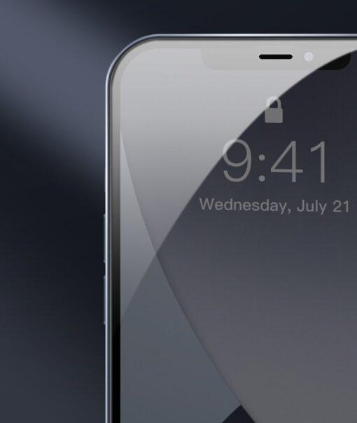 iPhone 12 mini kaitseklaas sinise valguse kaitsega taisekraan 0.23mm 2tk 8