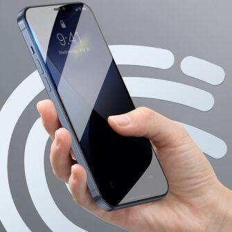 iPhone 12 mini kaitseklaas sinise valguse kaitsega taisekraan 0.23mm 2tk 9