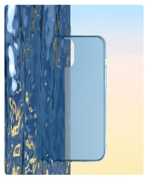 iPhone 12 mini plastikust frosted ümbris Baseus Frosted Glass Case valge 11