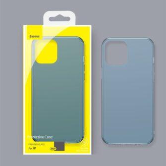 iPhone 12 mini plastikust frosted ümbris Baseus Frosted Glass Case valge 13
