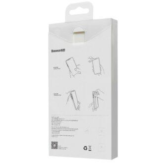 iPhone 12 mini plastikust frosted ümbris Baseus Frosted Glass Case valge 5