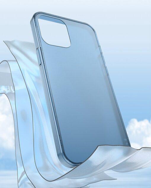 iPhone 12 mini plastikust frosted ümbris Baseus Frosted Glass Case valge 8