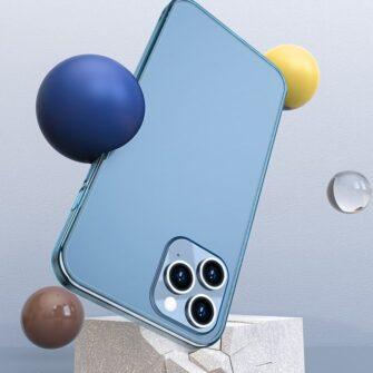 iPhone 12 mini plastikust frosted ümbris Baseus Frosted Glass Case valge 9