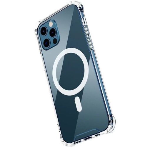 iPhone 12 mini silikoonist MagSafe tugevdatud nurkadega kaaned labipaistev 1