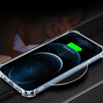 iPhone 12 mini silikoonist MagSafe tugevdatud nurkadega kaaned labipaistev 11
