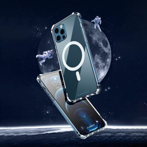 iPhone 12 mini silikoonist MagSafe tugevdatud nurkadega kaaned labipaistev 16