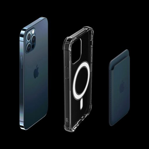 iPhone 12 mini silikoonist MagSafe tugevdatud nurkadega kaaned labipaistev 3