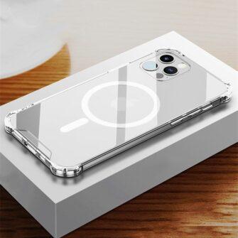 iPhone 12 mini silikoonist MagSafe tugevdatud nurkadega kaaned labipaistev 9