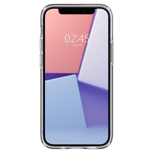 iPhone 12 mini silikoonist kaaned Spigen Liquid Crystal Clear 1