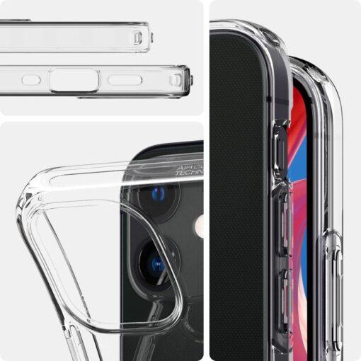 iPhone 12 mini silikoonist kaaned Spigen Liquid Crystal Clear 11