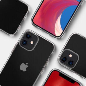 iPhone 12 mini silikoonist kaaned Spigen Liquid Crystal Clear 12