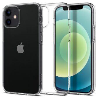iPhone 12 mini silikoonist kaaned Spigen Liquid Crystal Clear 13