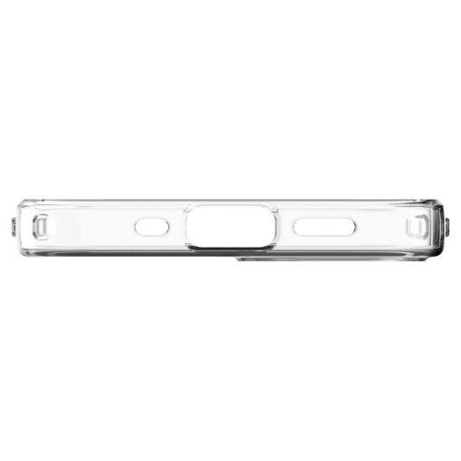 iPhone 12 mini silikoonist kaaned Spigen Liquid Crystal Clear 3