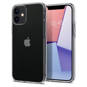 iPhone 12 mini silikoonist kaaned Spigen Liquid Crystal Clear 7