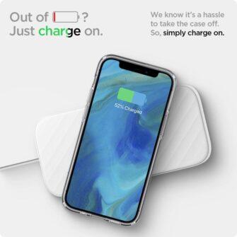 iPhone 12 mini silikoonist kaaned Spigen Liquid Crystal Clear 9