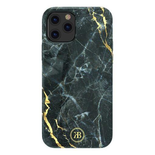 iPhone 12 mini umbris Kingxbar Marble Seeria must