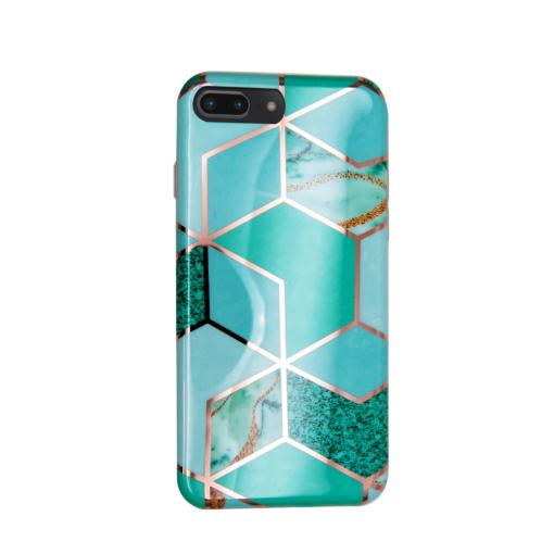 iPhone 8 Plus 7 Plus kaaned silikoonist Cosmo Marble 2