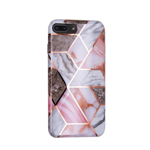 iPhone 8 Plus 7 Plus kaaned silikoonist Cosmo Marble 4