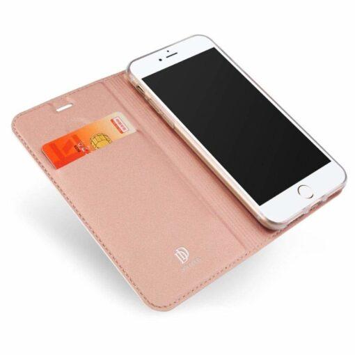 iPhone 8 Plus ja 7 Plus kaaned Dux Ducis Skin Pro Bookcase roosa 3