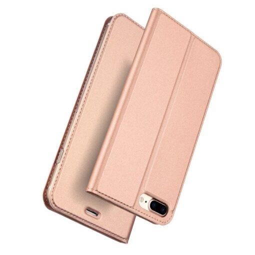 iPhone 8 Plus ja 7 Plus kaaned Dux Ducis Skin Pro Bookcase roosa
