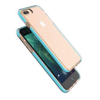 iPhone 8 Plus ja 7 Plus silikoonist umbris laikivate servadega must 1