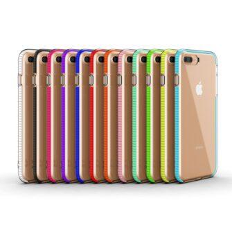 iPhone 8 Plus ja 7 Plus silikoonist umbris laikivate servadega must 4