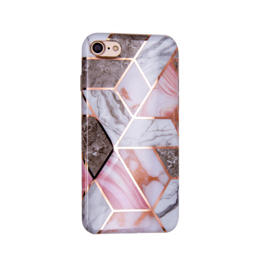 iPhone SE 2020 7 8 kaaned silikoonist Cosmo Marble 4