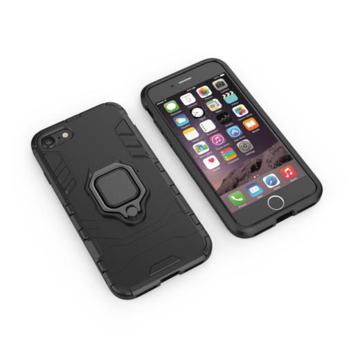 iPhone SE 2020 iPhone 8 ja iPhone 7 umbris Ring Armor must 1