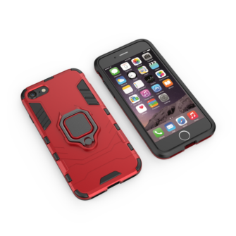iPhone SE 2020 iPhone 8 ja iPhone 7 umbris Ring Armor punane 1