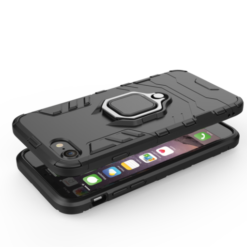 iPhone SE 2020 iPhone 8 ja iPhone 7 umbris Ring Armor punane 5