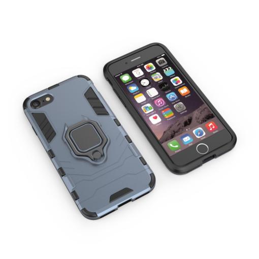 iPhone SE 2020 iPhone 8 ja iPhone 7 umbris Ring Armor sinine 1
