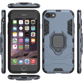 iPhone SE 2020 iPhone 8 ja iPhone 7 umbris Ring Armor sinine 2