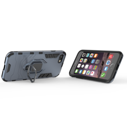 iPhone SE 2020 iPhone 8 ja iPhone 7 umbris Ring Armor sinine 4