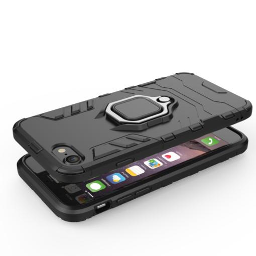 iPhone SE 2020 iPhone 8 ja iPhone 7 umbris Ring Armor sinine 5