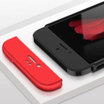 iPhone SE 5S 5 plastikust 360 umbris must 2
