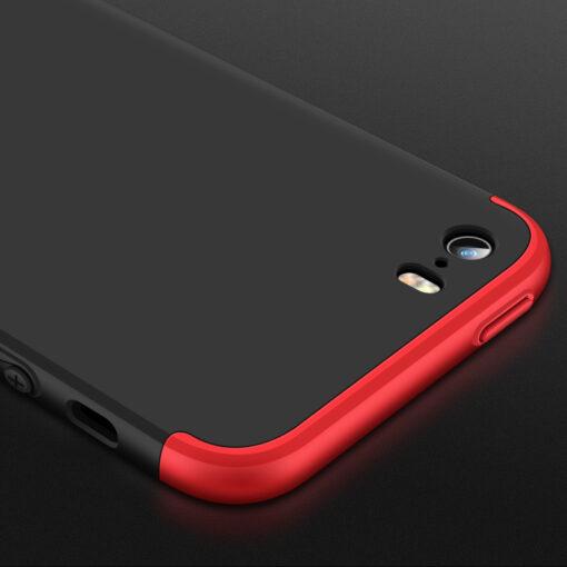 iPhone SE 5S 5 plastikust 360 umbris must 4