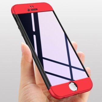 iPhone SE 5S 5 plastikust 360 umbris must 5