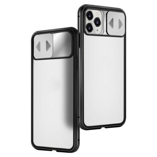 iPhone SE2 8 7 kaamera kaitsega magnetiga 360 umbris 1