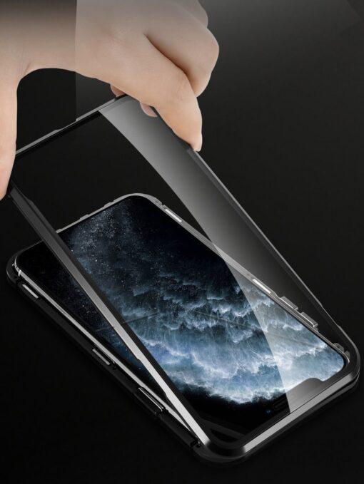 iPhone SE2 8 7 kaamera kaitsega magnetiga 360 umbris 10