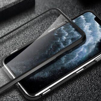 iPhone SE2 8 7 kaamera kaitsega magnetiga 360 umbris 11