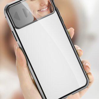 iPhone SE2 8 7 kaamera kaitsega magnetiga 360 umbris 12