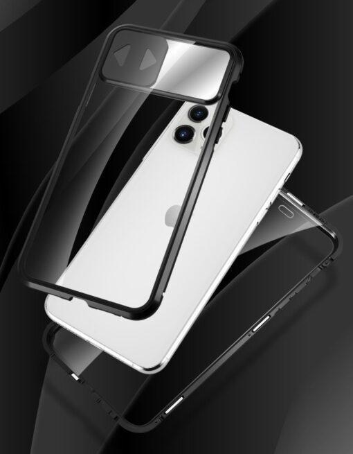 iPhone SE2 8 7 kaamera kaitsega magnetiga 360 umbris 14