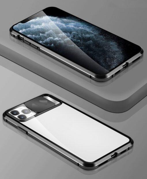 iPhone SE2 8 7 kaamera kaitsega magnetiga 360 umbris 15