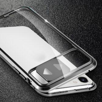 iPhone SE2 8 7 kaamera kaitsega magnetiga 360 umbris 3