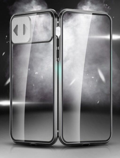 iPhone SE2 8 7 kaamera kaitsega magnetiga 360 umbris 5